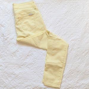 SEVEN7 Jeans Skinny Pastel Yellow pants